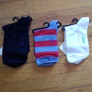 HUE Accessories - HUE SHORTIE SOCKS